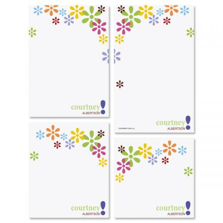Hopscotch Personalized Notepad Set