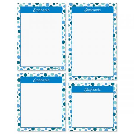 Zippy Dots Notepad Set