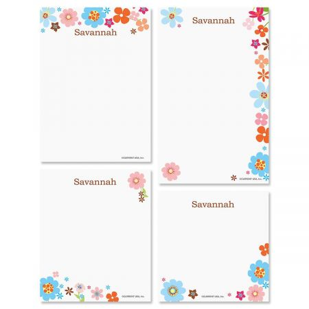 Sprightly Notepad Set