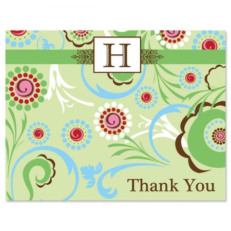 Fanciful Personalized Thank You Cards