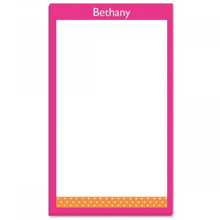 Zesty Dots Notepad