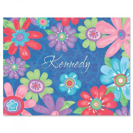 Blossom Personalized Note Card