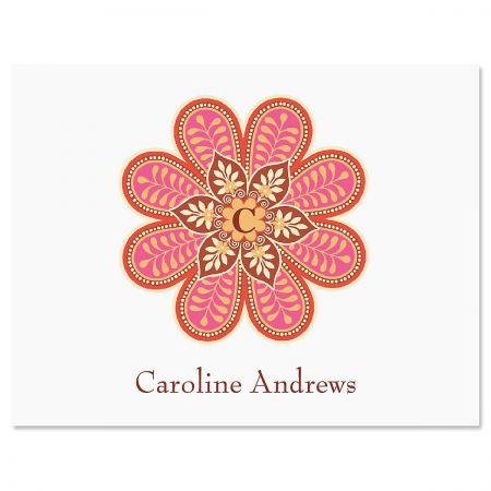 Flower Pop Note Card