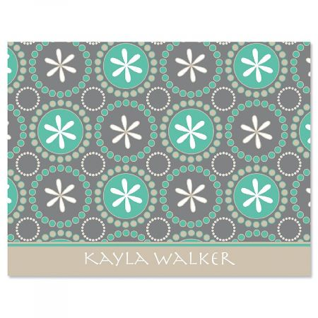 Hula Loop Personalized Note Cards