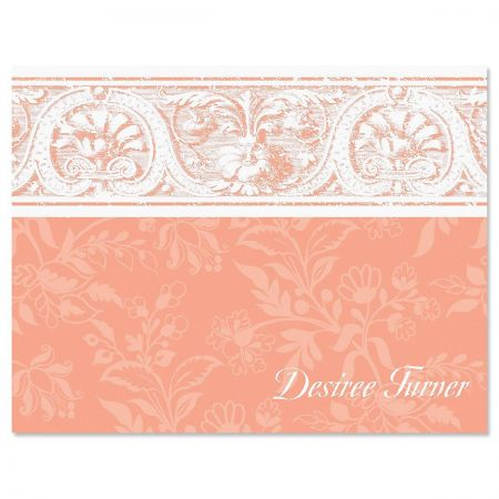 Elegant Border Note Cards
