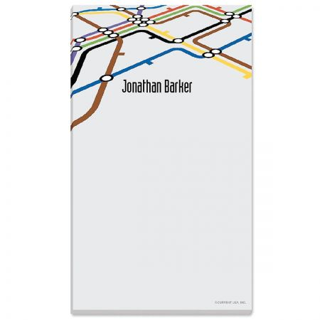 Underground Personalized Notepads