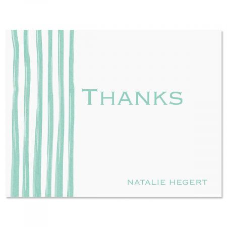 Sheer Delight Personalized Thank You Cards