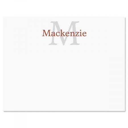 Extravagant Correspondence Card