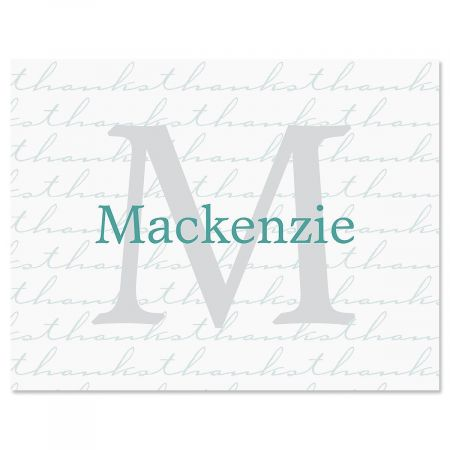 Extravagant Personalized Thank You Cards