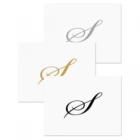 Formal Personalized Note Cards