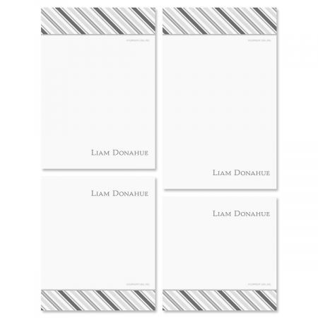 Old School Personalized Notepad Set
