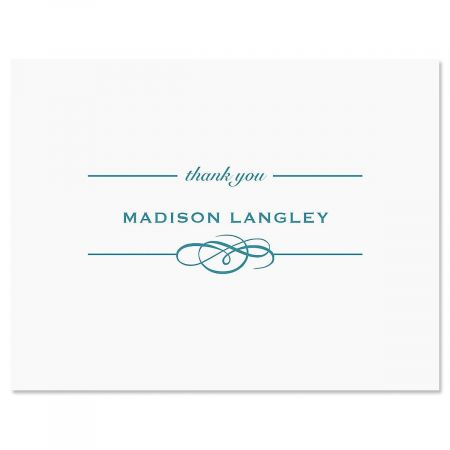 Distinction Thank You Card