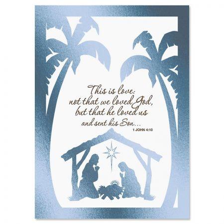 Bethlehem Deluxe Christmas Cards