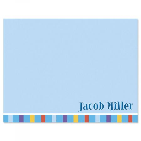 Color Bar Correspondence Cards