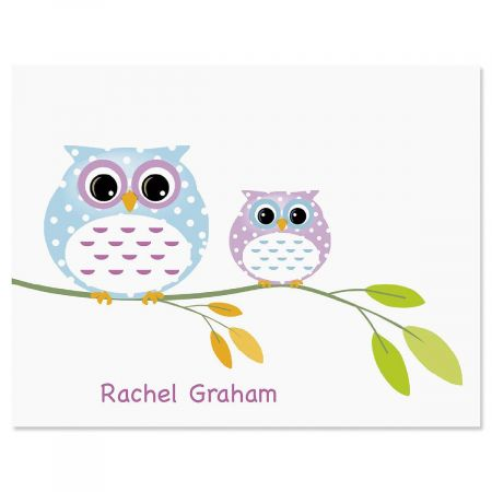 Owl Always Love You Personalized Note Cards