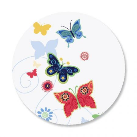 Delicate Butterflies Envelope Sticker Seals