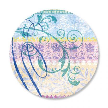 Mixed Blossoms Envelope Sticker Seals