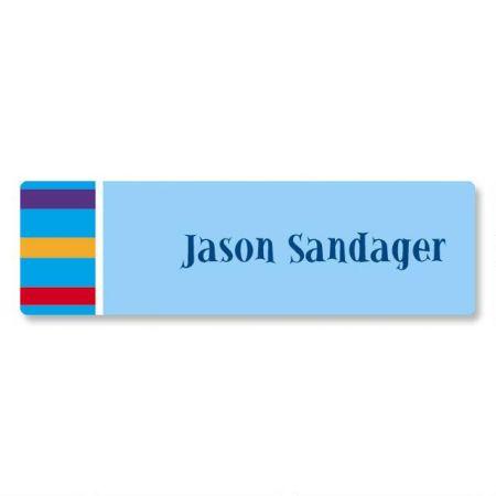 Color Bar ID Labels