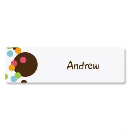 Confetti ID Labels