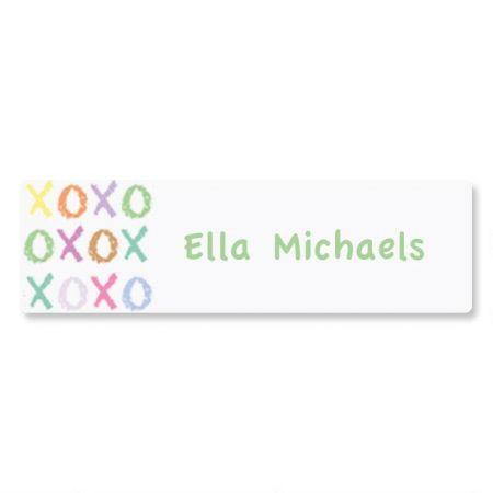 XOXOXO ID Labels