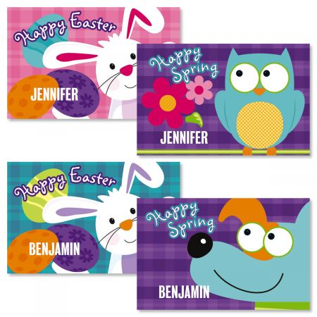 Personalized Easter Bunny Kids' Placemat