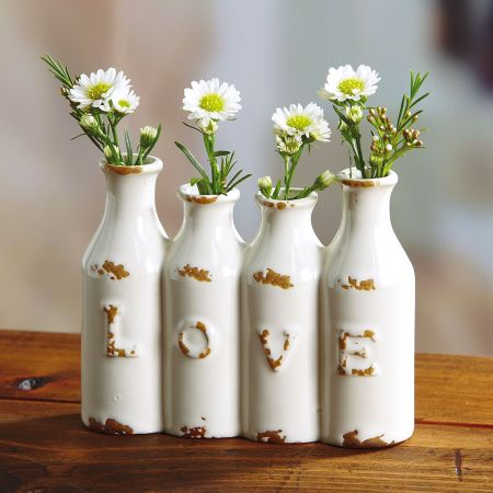 Love Mini Vase by Current Catalog