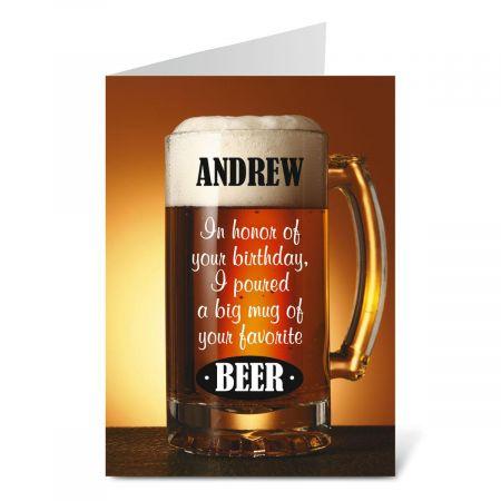 Beer Create-A-Card