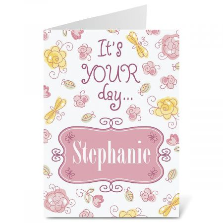 Pretty in Pink Birthday Create-A-Card