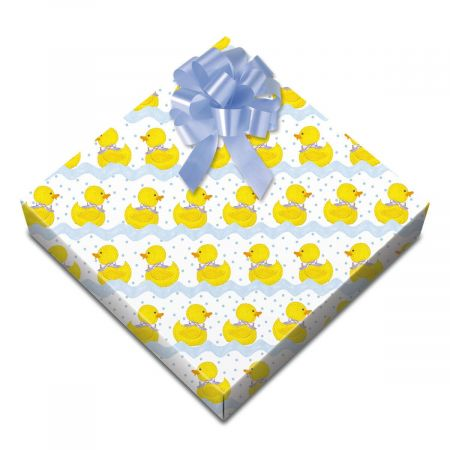 Ducks Swimming Classic-Size Rolled Gift Wrap