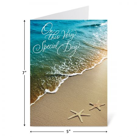 On the Beach Anniversary Cards and Seals
