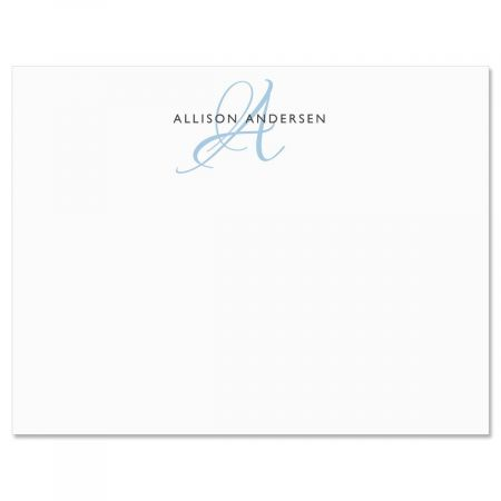 Initial Flat Correspondence Cards