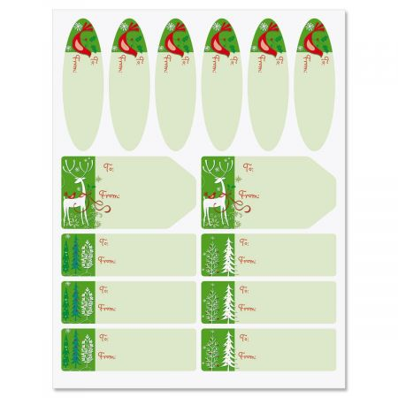 Reindeer Forest Labels