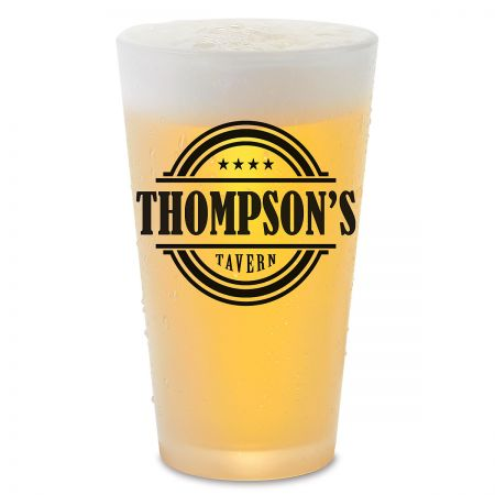 Tavern Name Personalized Pint Beer Glass