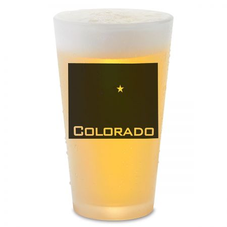 State Personalized Pint Beer Glass