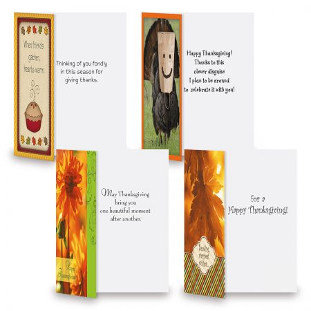 Thanksgiving Greeting Cards Value Pack