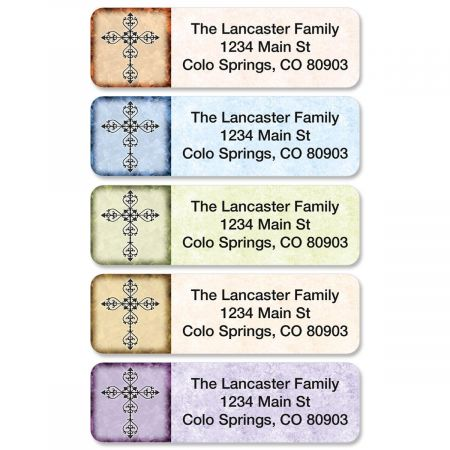 Rejoice Rolled Address Labels  (5 Designs)