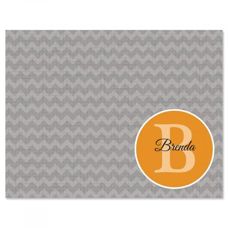 Faded Seal Personalized Note Cards