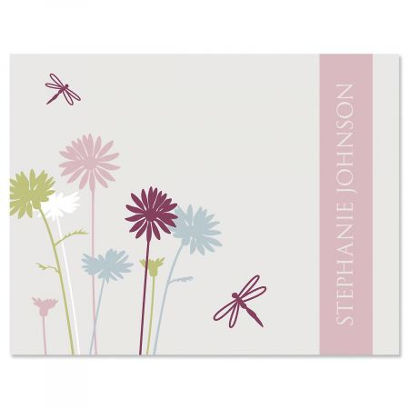 Dragonfly Personalized Note Cards