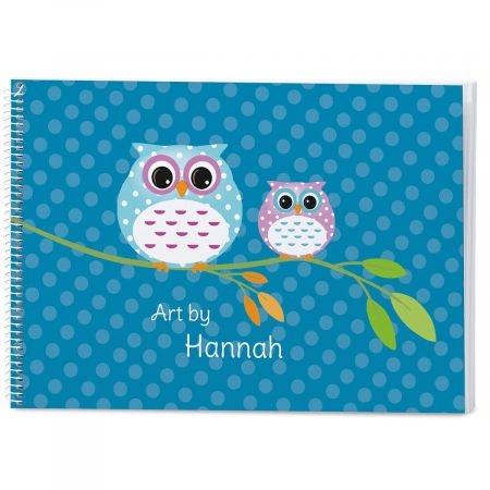 Owl Personalized Sketchbook