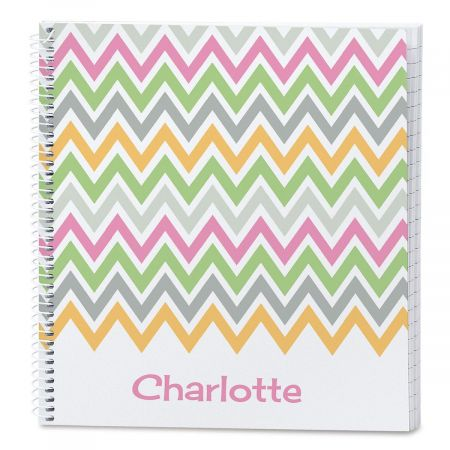 Chevron Personalized Journal