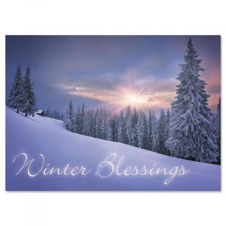 Quiet Joys Nonpersonalized Christmas Cards - Set of 18