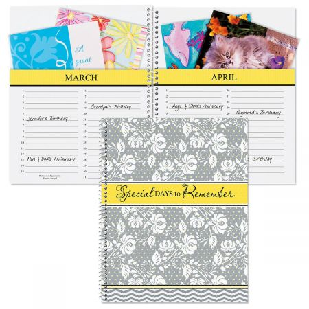 Greeting Card Organizer Book