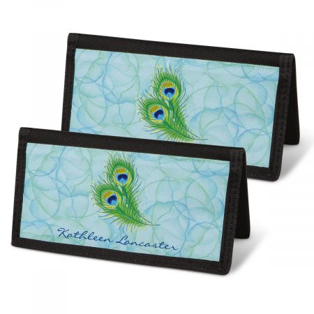 Bright Watercolors Checkbook Covers