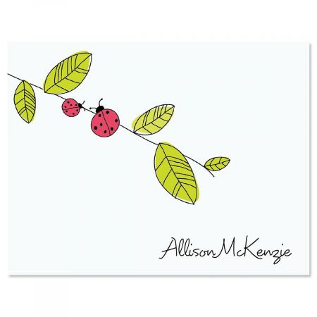 Ladybugs Note Cards