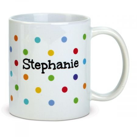 Dots Personalized Mug