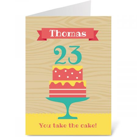 Take the Cake Birthday Create-A-Card
