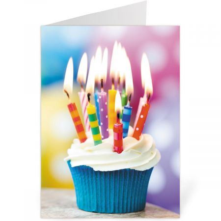 Candles Birthday Cards