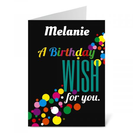 Confetti Birthday Create-A-Card