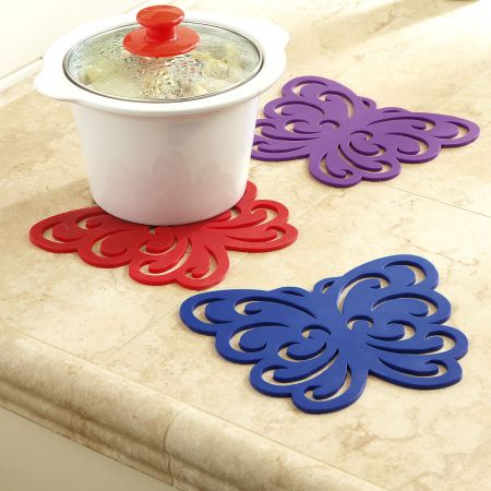 Butterfly Silicone Hot Pad