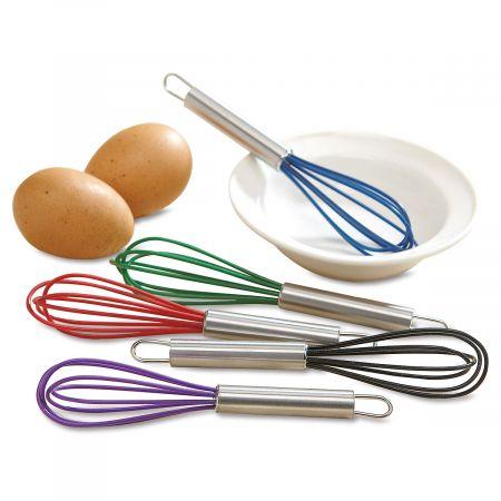 Colorful Kitchen Mini Silicone Whisks